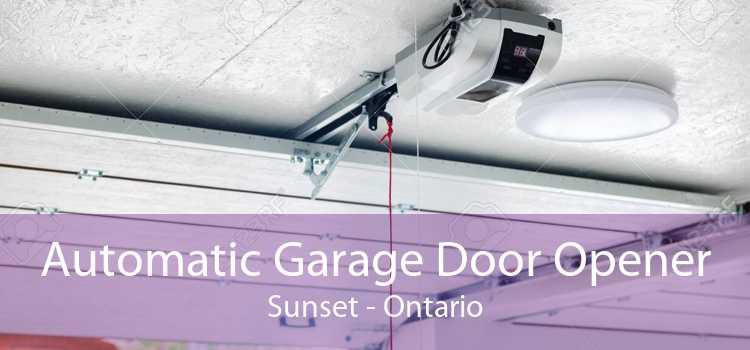 Automatic Garage Door Opener Sunset - Ontario