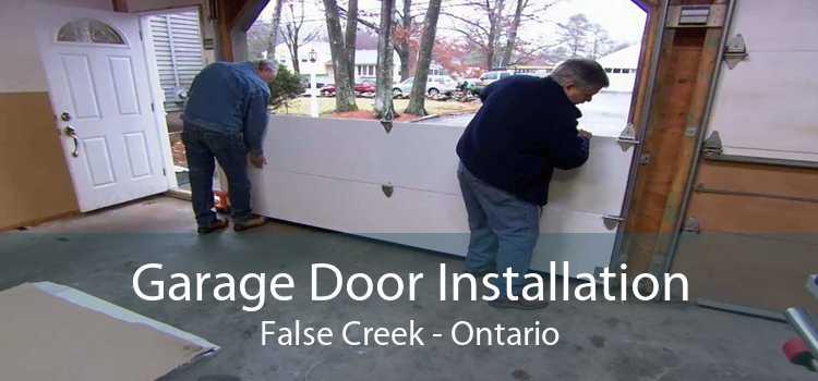 Garage Door Installation False Creek - Ontario