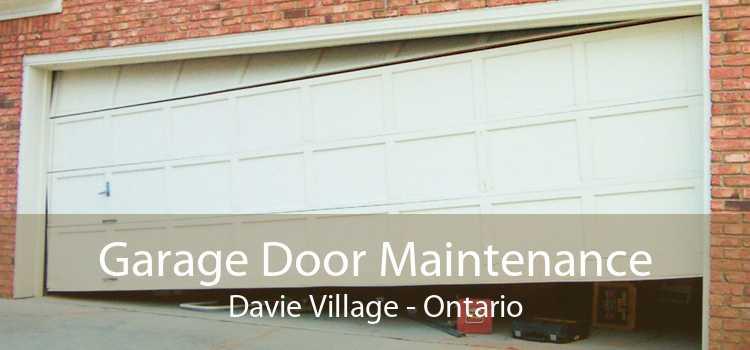 Garage Door Maintenance Davie Village - Ontario