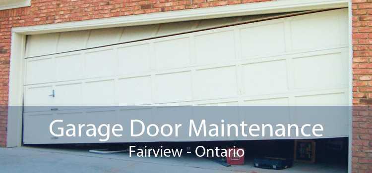 Garage Door Maintenance Fairview - Ontario