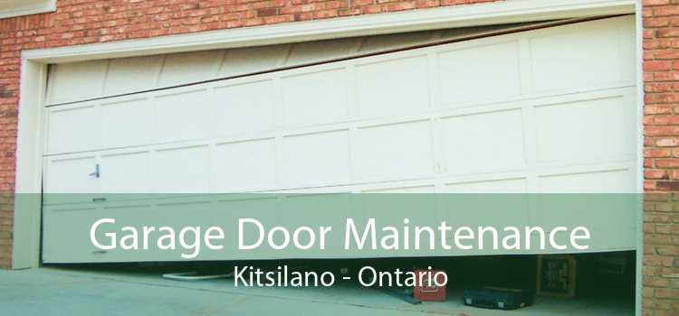 Garage Door Maintenance Kitsilano - Ontario