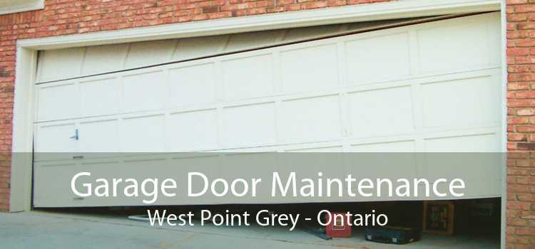 Garage Door Maintenance West Point Grey - Ontario