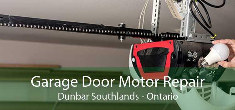 Garage Door Motor Repair Dunbar Southlands - Ontario