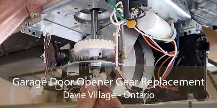 Garage Door Opener Gear Replacement Davie Village - Ontario
