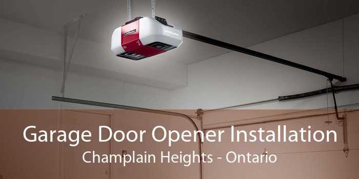 Garage Door Opener Installation Champlain Heights - Ontario