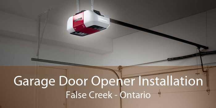 Garage Door Opener Installation False Creek - Ontario