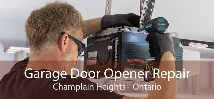 Garage Door Opener Repair Champlain Heights - Ontario
