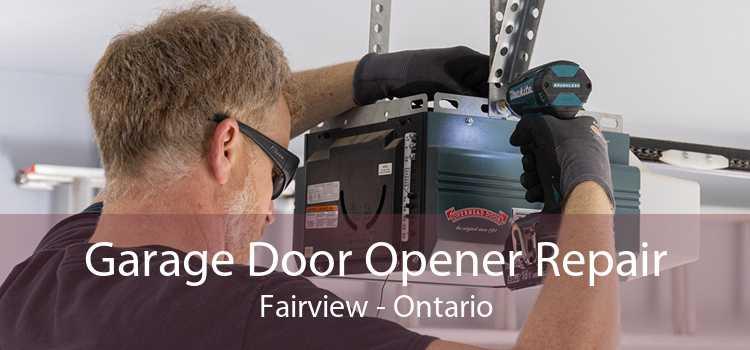 Garage Door Opener Repair Fairview - Ontario