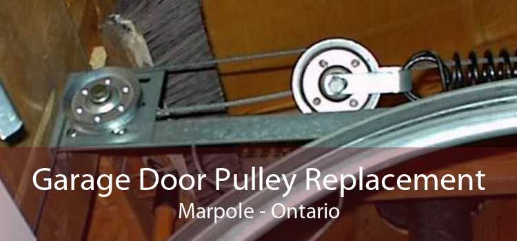 Garage Door Pulley Replacement Marpole - Ontario