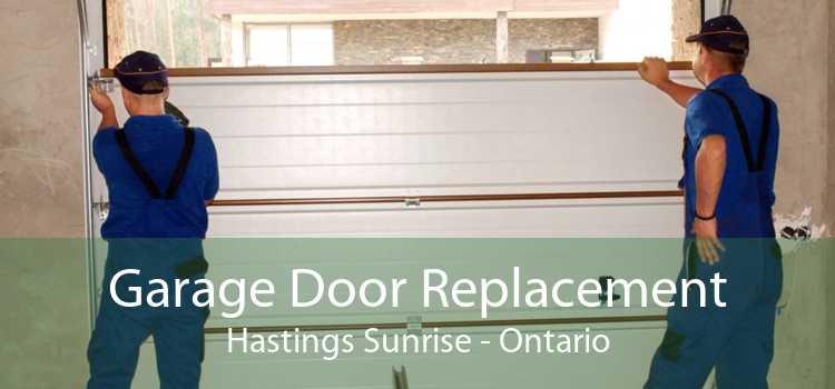 Garage Door Replacement Hastings Sunrise - Ontario