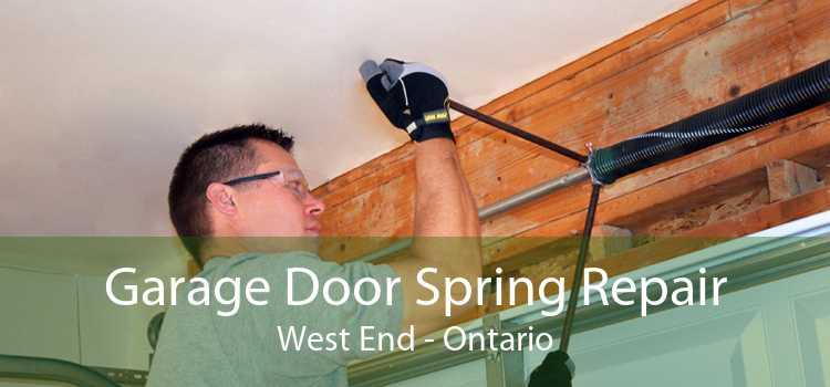 Garage Door Spring Repair West End - Ontario