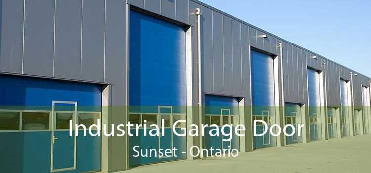 Industrial Garage Door Sunset - Ontario