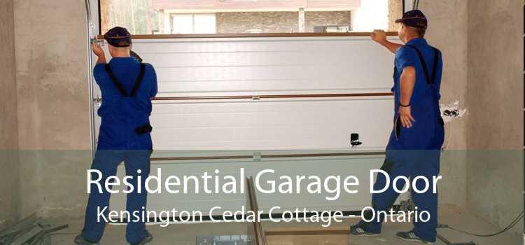 Residential Garage Door Kensington Cedar Cottage - Ontario