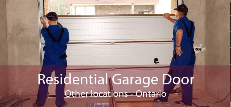 Residential Garage Door Other locations - Ontario