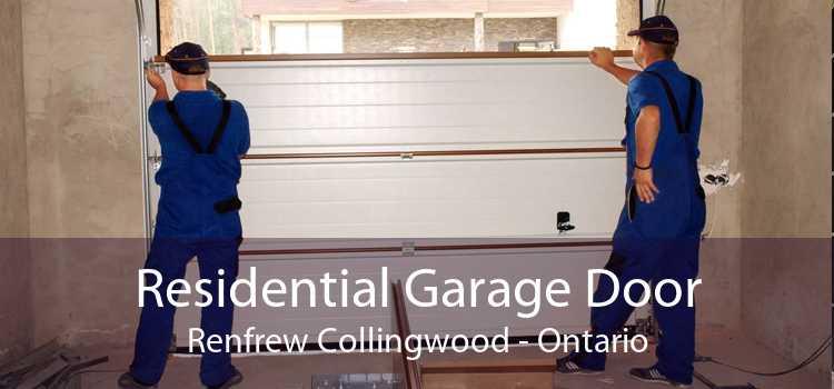 Residential Garage Door Renfrew Collingwood - Ontario