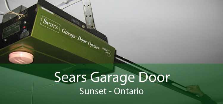 Sears Garage Door Sunset - Ontario