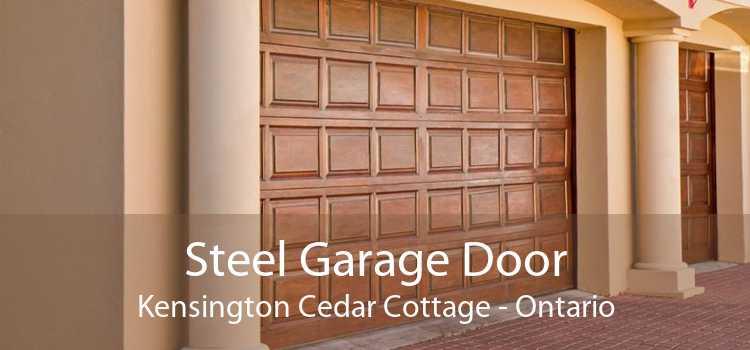 Steel Garage Door Kensington Cedar Cottage - Ontario