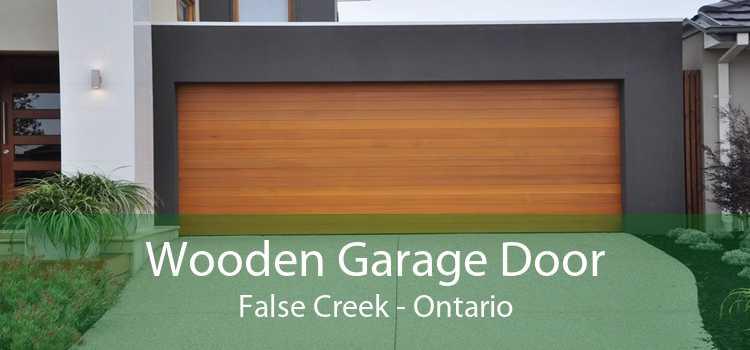 Wooden Garage Door False Creek - Ontario