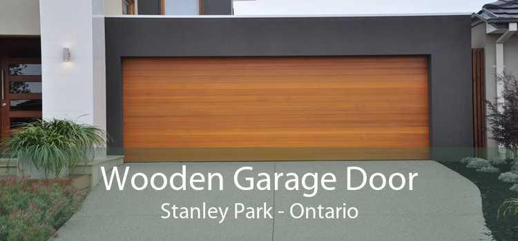 Wooden Garage Door Stanley Park - Ontario